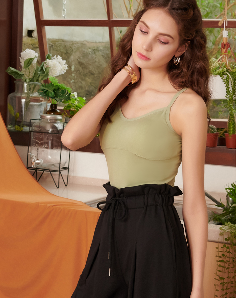 Flexi Hollow Back Cropped Camisole