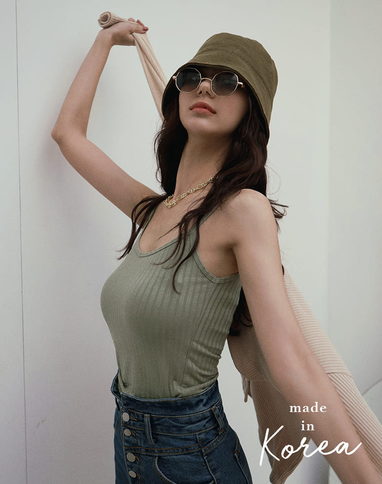 MADE IN KOREA EDGY FLEXI CAMISOLE