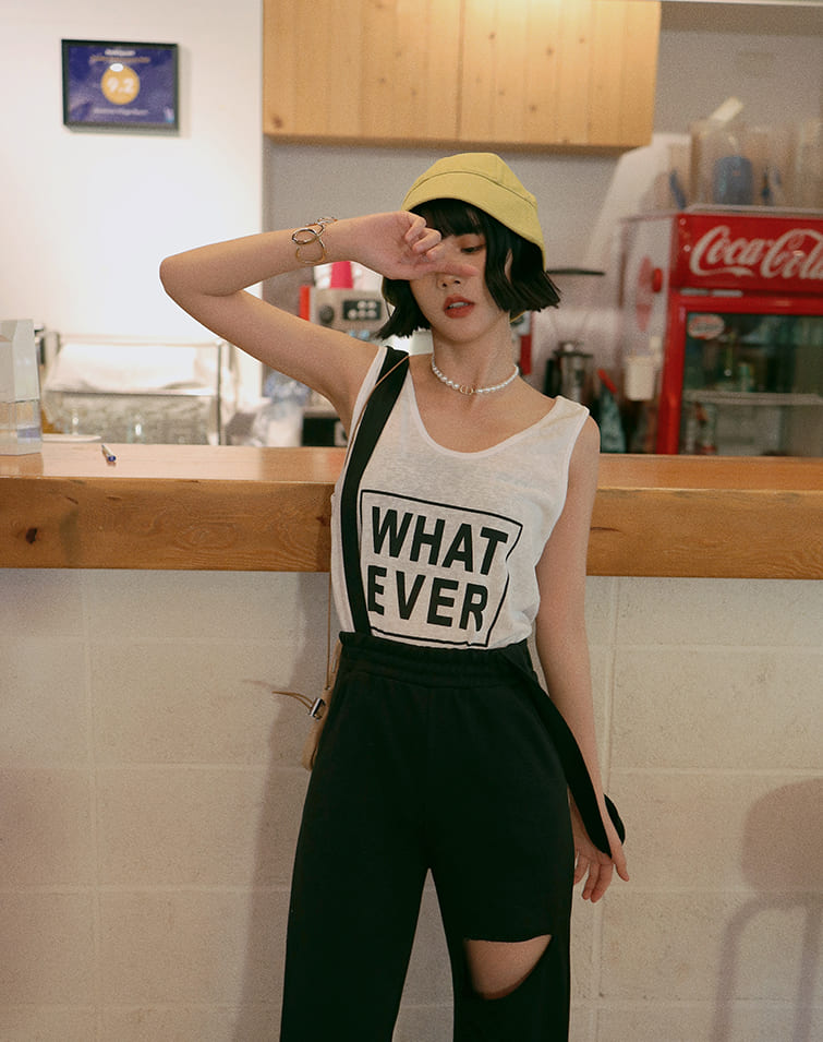 WHAT EVER TANK TOP