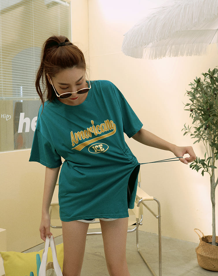 CONTRAST TEXT STATEMENT TEE