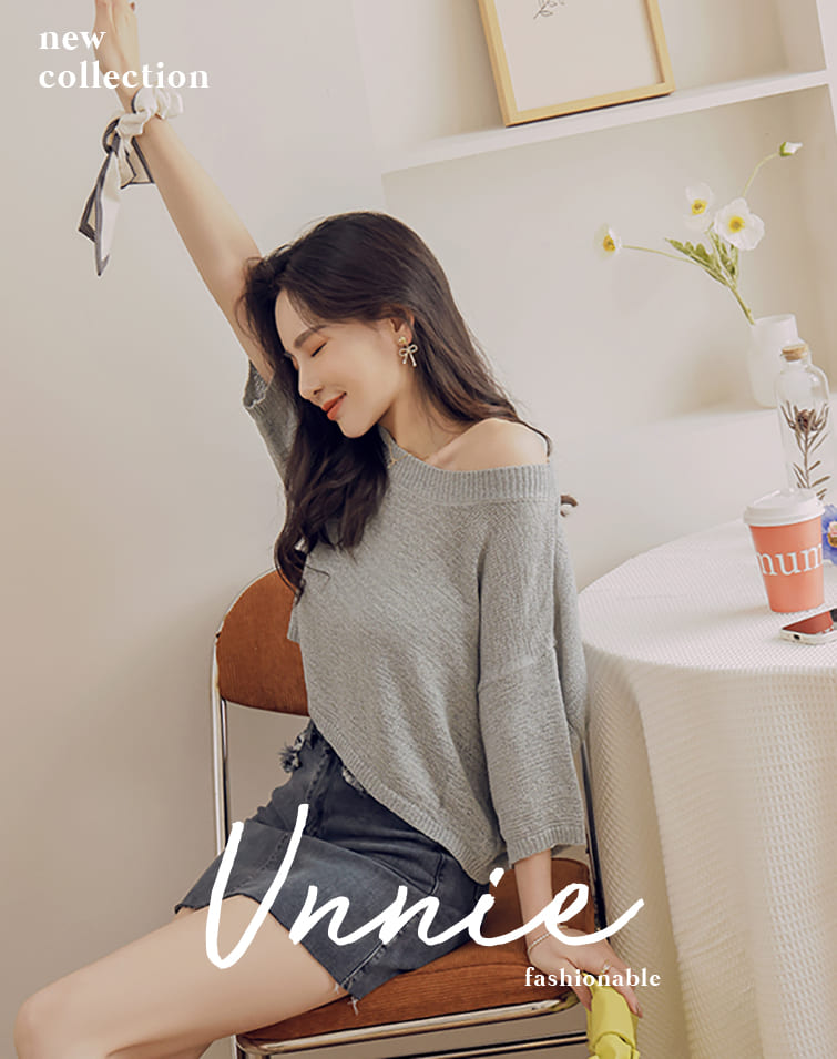 WIDE SLEEVES KNIT TOP