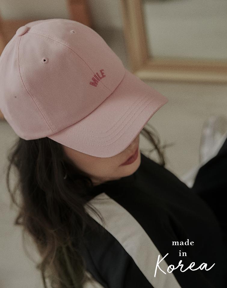 MADE IN KOREA MILE BASEBALL CAP