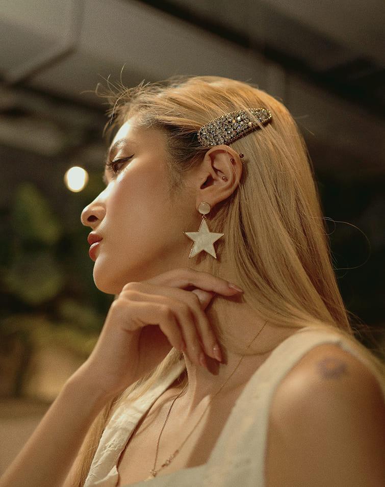 TEARS OF POLARIS STAR EARRINGS